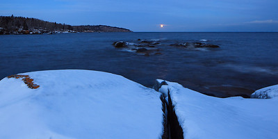 Shovel Point Moonrise