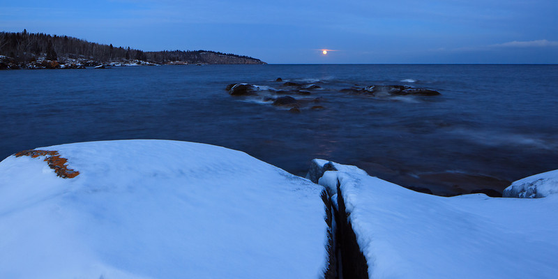 Shovel Point Moonrise