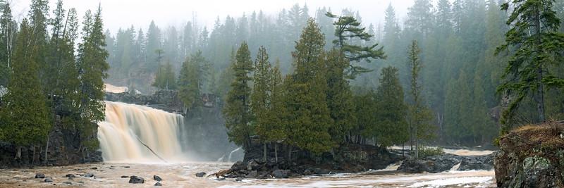 Spring Runoff - Gooseberry Falls