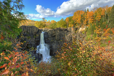 Peak Fall - Pigeon River High Falls