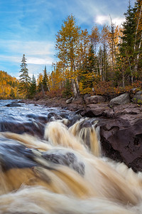 Autumn Rush - Temperance River State Park