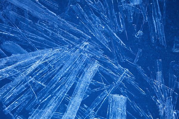 Ice Shard Abstract