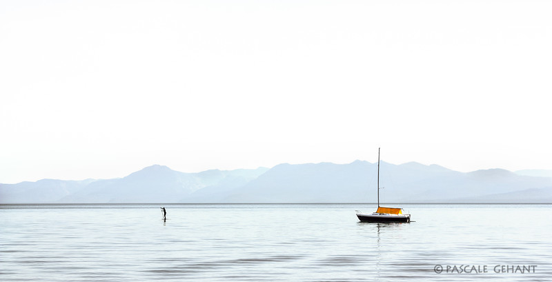 Anchored on Lake Tahoe