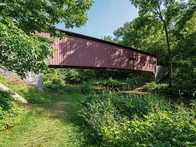 ©2020 Dennis A  Mook; All Rights Reserved; Lancaster County; Covered Bridge-
