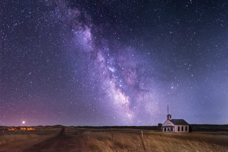 Milkyway in the California Foothills 1