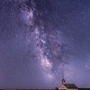 Milkyway in the California Foothills 2