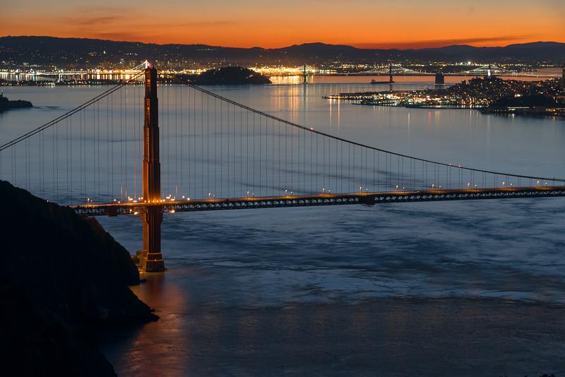 Golden Gate at Sunrise 3