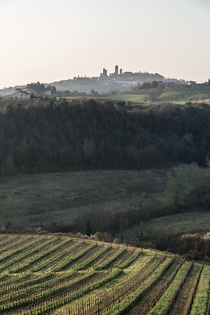 At Sunrise - San Gimignano, Siena, Italy - March 26, 2016