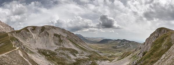 Monte Aquila - Pietracamela, Teramo, Italy - August 13, 2019