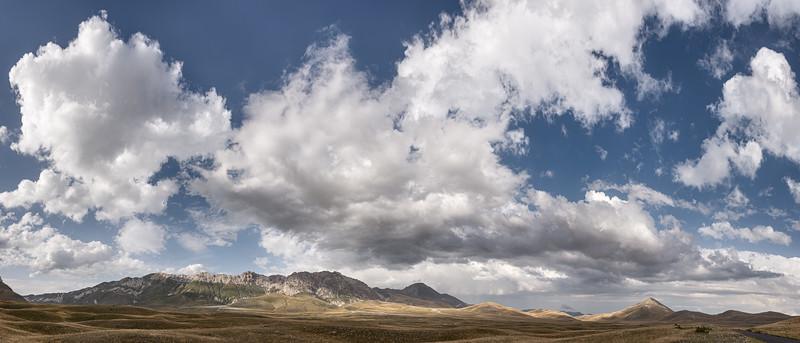 Campo Imperatore Plateau - Santo Stefano di Sessanio, L'Aquila, Italy - August 13, 2019