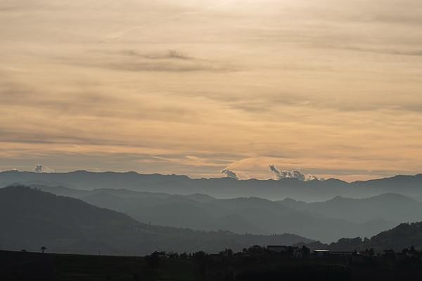 Appennino Reggiano - Sarzano, Casina, Reggio Emilia, Italy - October 5, 2019