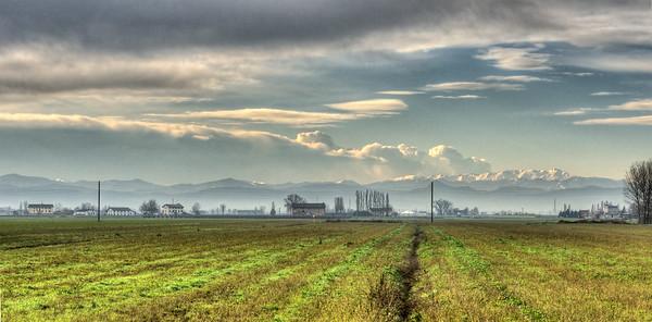 Appennino Reggiano - Correggio, Reggio Emilia, Italy - December 5, 2012