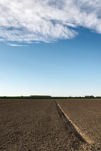 Farmland - Cadelbosco di Sopra, Reggio Emilia, Italy - October 22, 2014