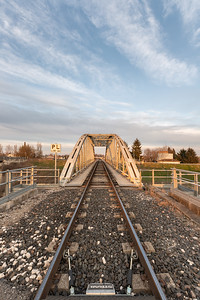 Railway Bridge - Gualtieri, Reggio Emilia, Italy - March 2, 2019