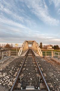 Railway Bridge - Gualtieri, Reggio Emilia, Italy - March 2, 2019