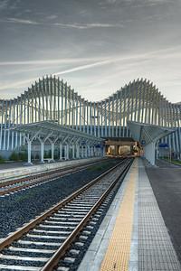 Stazione Mediopadana - Reggio Emilia, Italy - November 20, 2014