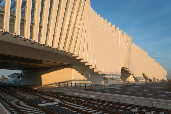 Mediopadana Station - Reggio Emilia, Italy - November 20, 2014