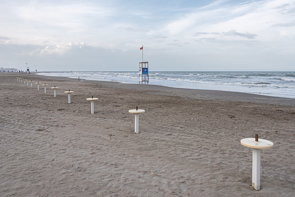 Lifeguard Tower - Milano Marittima, Cervia, Ravenna, Italy - April 24, 2019