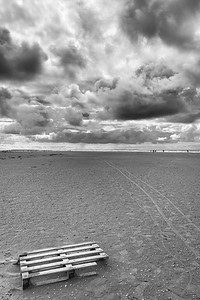 Lakolk Strand - Rømø, Denmark - August 19, 2021