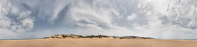 Dunes of Piscinas - Arbus, Sud Sardegna, Italy - August 13, 2020