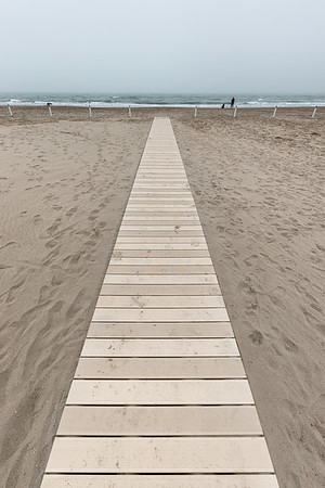 Boardwalk - Milano Marittima, Cervia, Ravenna, Italy - April 25, 2019