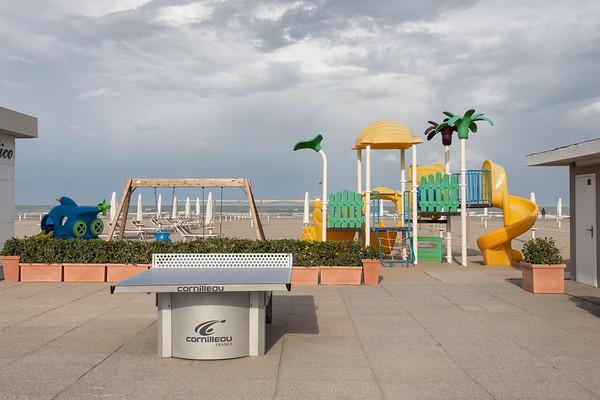 Playground - Milano Marittima, Cervia, Ravenna, Italy - April 24, 2019