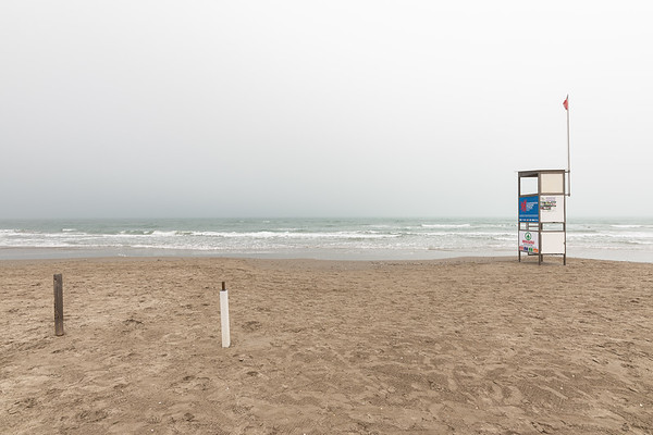 Lifeguard Tower - Milano Marittima, Cervia, Ravenna, Italy - April 25, 2019