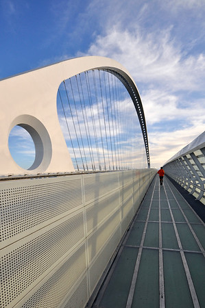 Vele di Calatrava, Ponte Centrale - Reggio Emilia, Italy - March 27, 2010