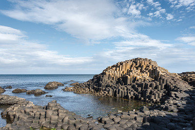 Giant's Causeway - Bushmills, Northern Ireland, UK - August 17, 2017