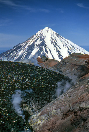 Avachinsky's caldera - Kamchatka, Russian Federation - Summer 1993