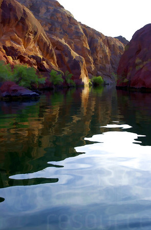 Arizona River Reflection | Wall Art Resource
