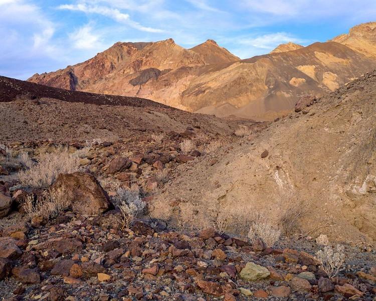 Sunlit Bajada Slope