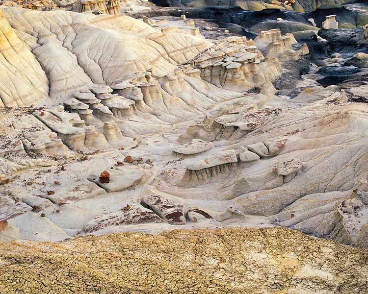 High Desert Arroyo and Hoodoos