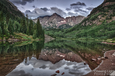 Maroon Bells - Before Sunrise