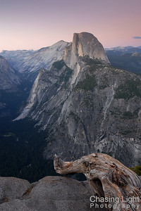 Sunset on Half Dome