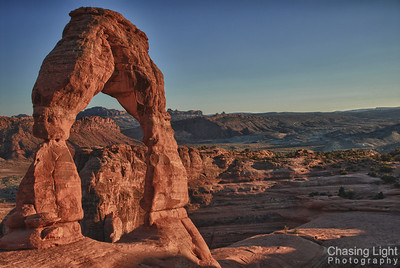 Sunset on Delicate Arch