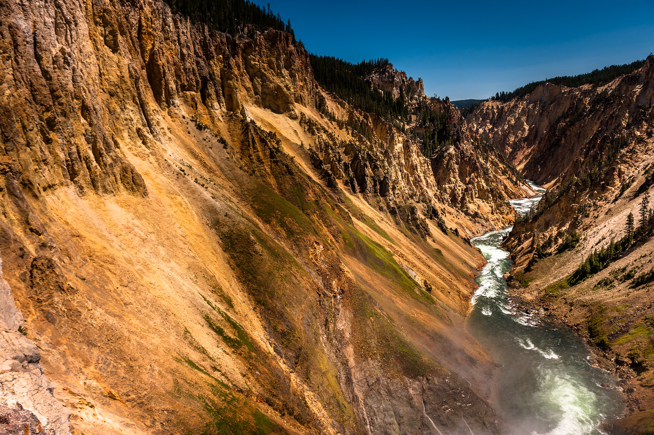 Yellowstone River Canyon