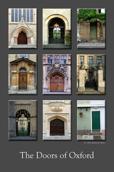 The Doors of Oxford
