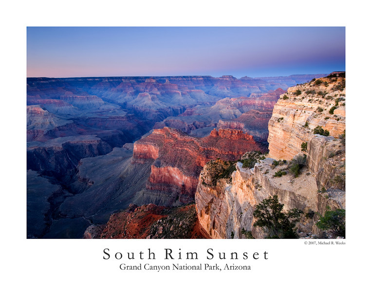 South Rim Sunset