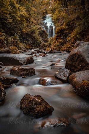 Aberfoyle autumn river