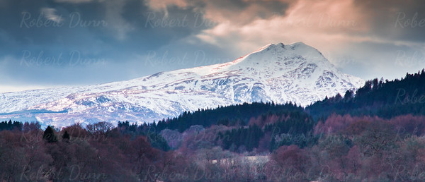 Ben Lomond, winter is near