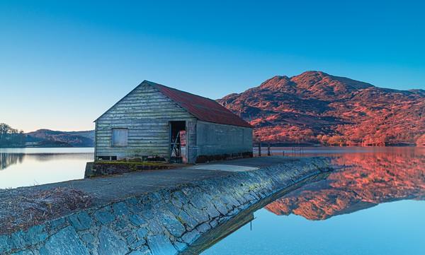 Boat House on Loch Katrine