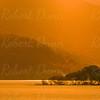 Loch Lomond sun rays