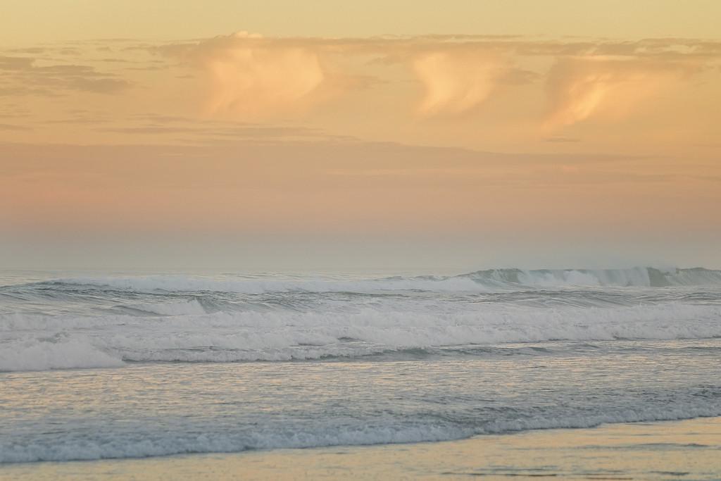 Serene Sunrise on the Central Oregon Coast