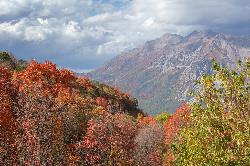 Timpanogos in the Fall 05