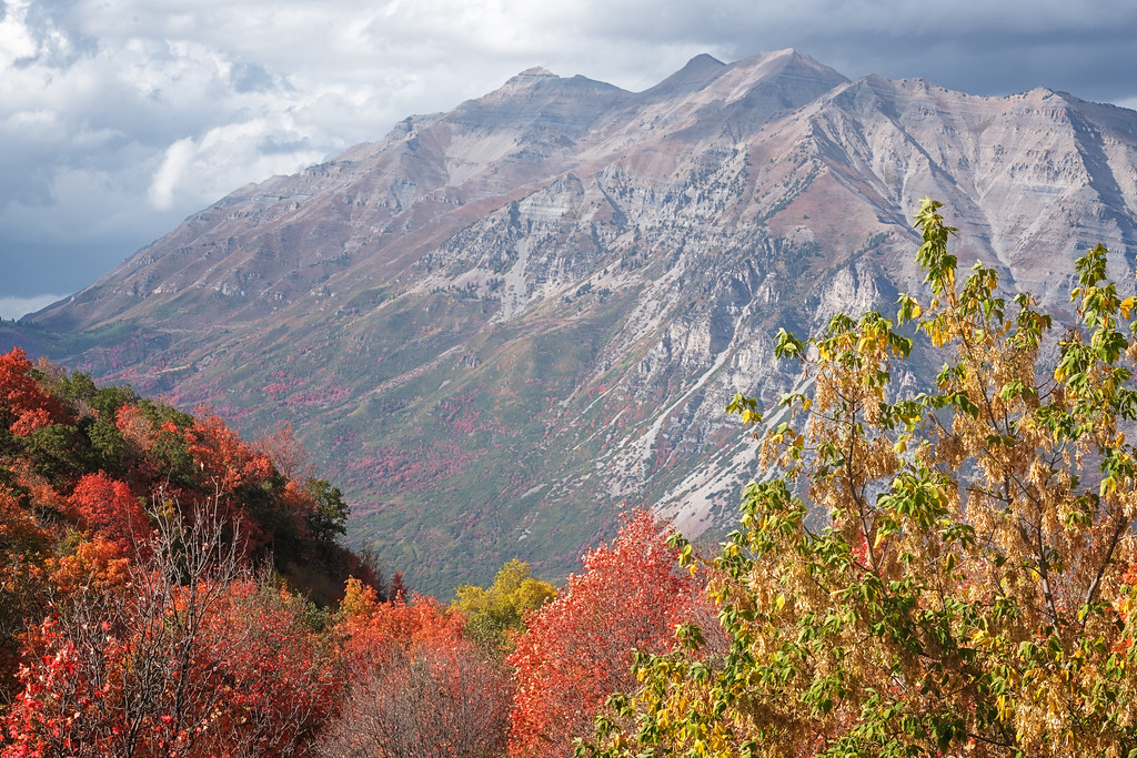 Timpanogos in the Fall 06