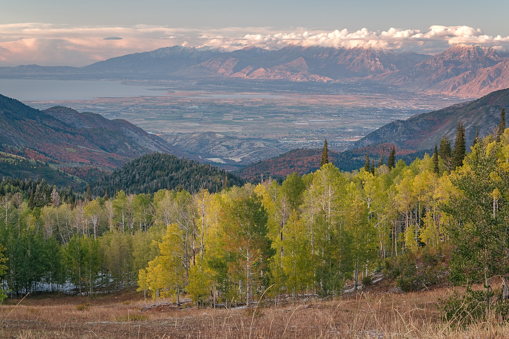 Utah Valley from the Nebo Loop 01