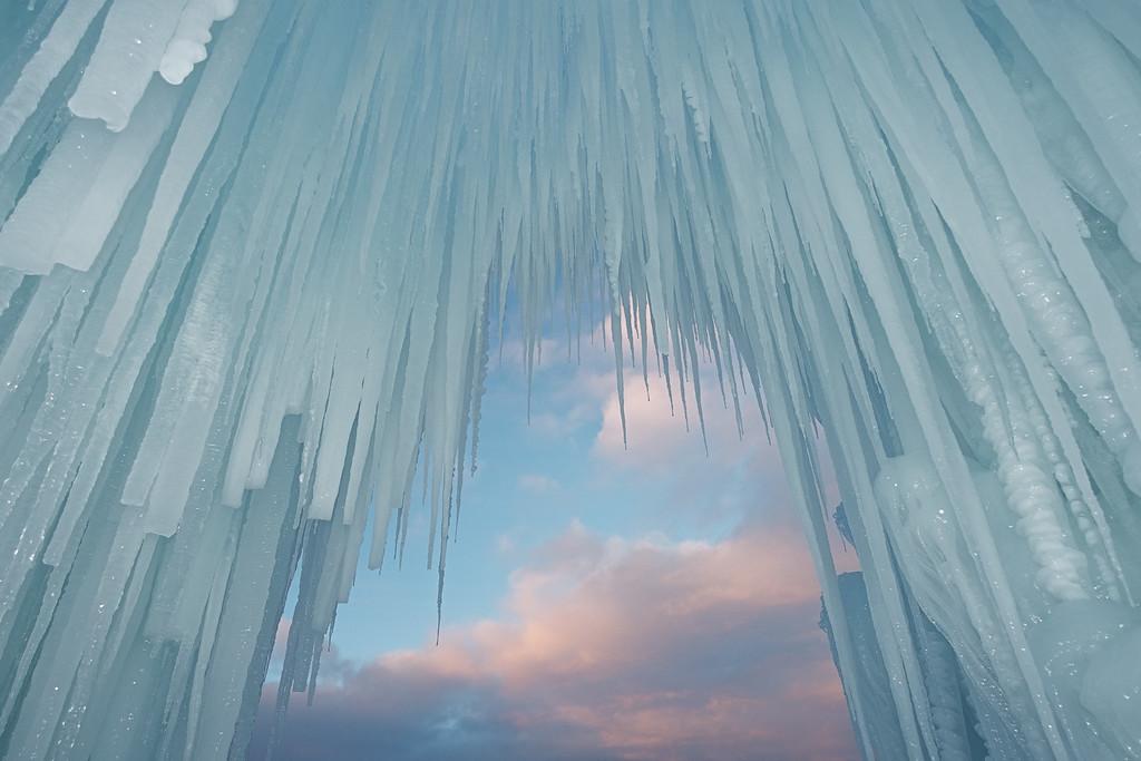 Ice Castle Entrance
