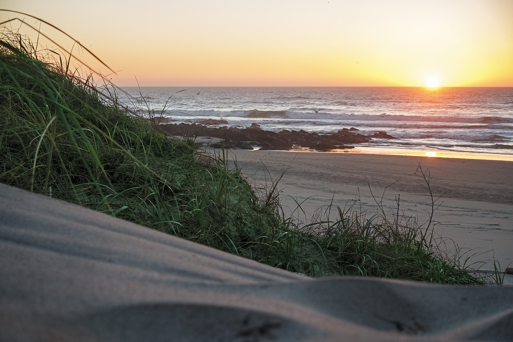 Calm Coastal Sunset