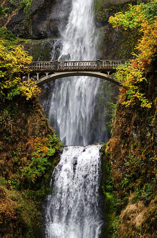 Multnomah Falls and Benson Bridge
